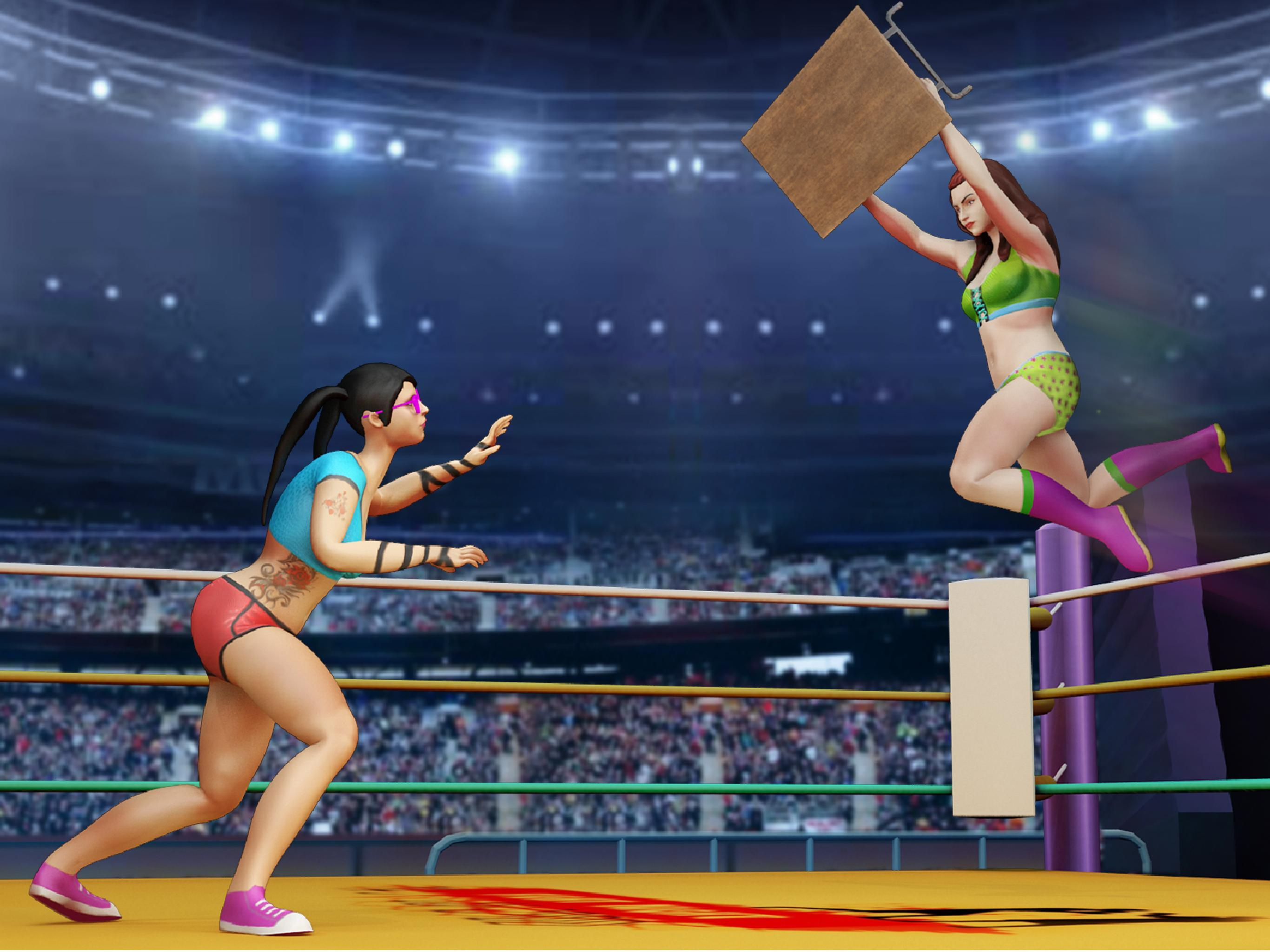 Women Wrestling Rumble: Backyard Fighting for Android ...