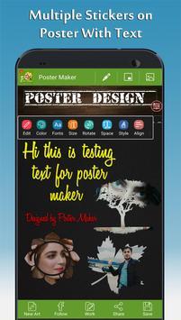 Poster Maker - Fancy Text Art and Photo Art screenshot 3