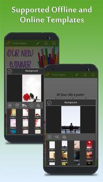 Poster Maker - Fancy Text Art and Photo Art screenshot 5