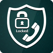 Secure Incoming Calls Lock Privacy icon