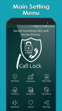 Secure Incoming Calls Lock Privacy screenshot 1