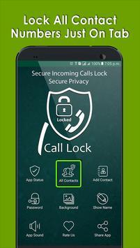 Secure Incoming Calls Lock Privacy screenshot 8
