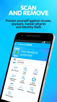 SAFE Internet Security & Mobile Antivirus poster