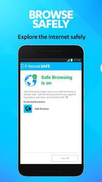 SAFE Internet Security & Mobile Antivirus screenshot 1