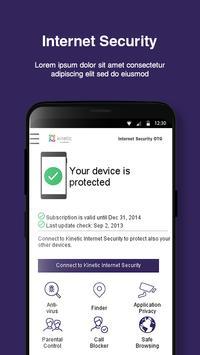 Kinetic Internet Security OTG 스크린샷 1