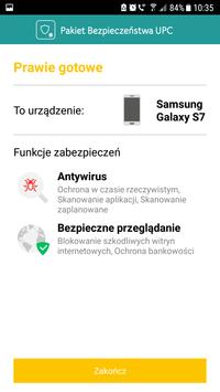 Pakiet Bezpieczeństwa UPC screenshot 2