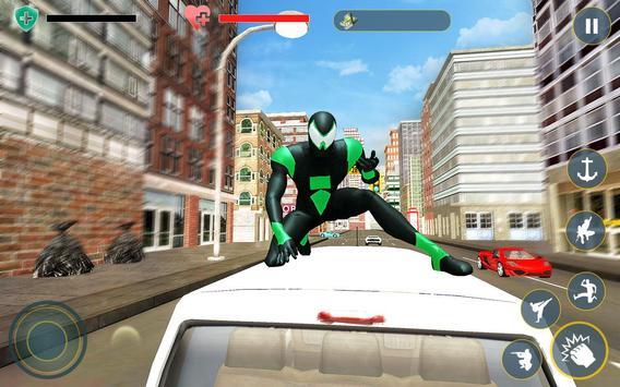 7 Schermata Amazing Rope Hero - City Spider