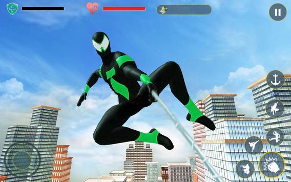 2 Schermata Amazing Rope Hero - City Spider