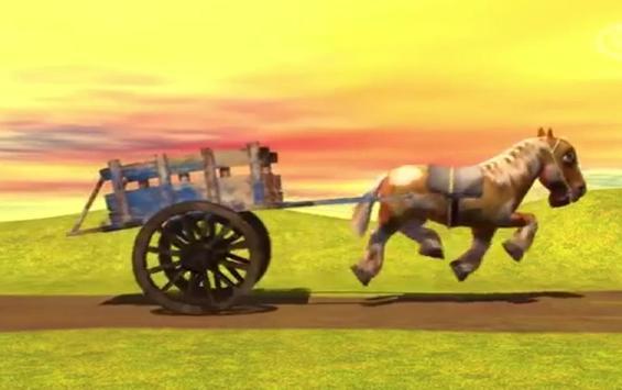 Music for children Horse Percheron poster