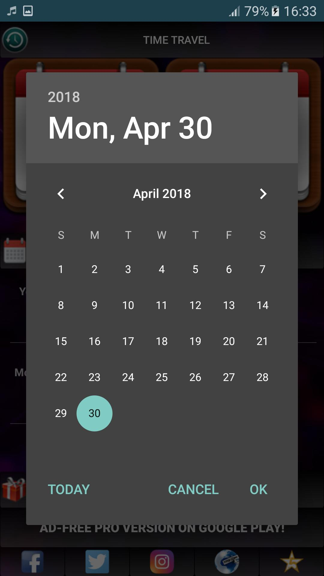 Time Travel Calculator for Android - APK Download