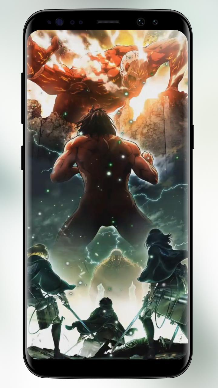 Attack On Anime Live Wallpaper Titans Hd For Android Apk Download