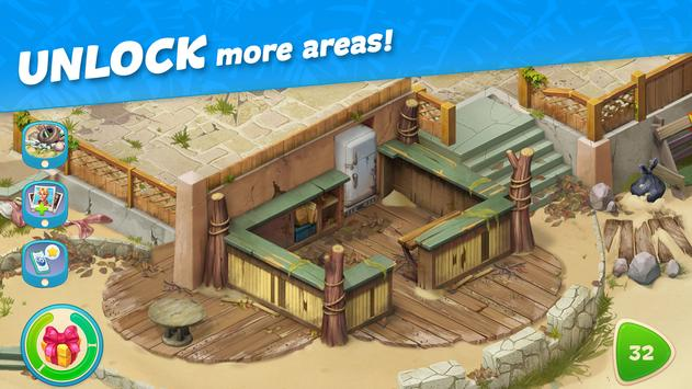 Hawaii Match-3 Mania Home Design & Matching Puzzle screenshot 11