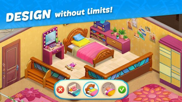 Hawaii Match-3 Mania Home Design & Matching Puzzle screenshot 1