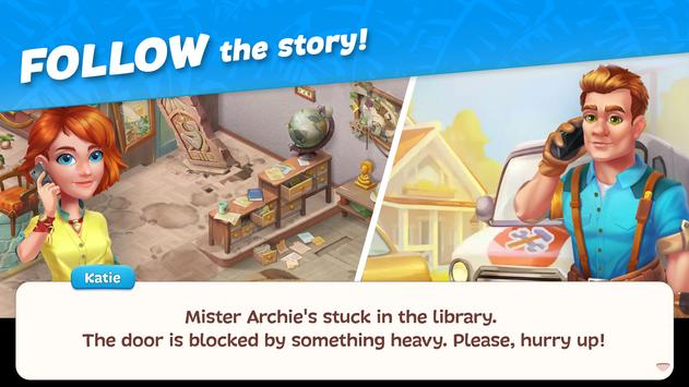 Hawaii Match-3 Mania Home Design & Matching Puzzle screenshot 3