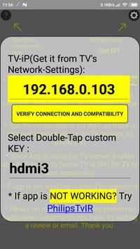 Remote for Philips TV(until 2015) Simple WiFi screenshot 1