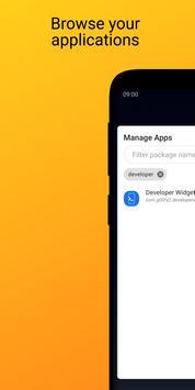 Developer Widget screenshot 2
