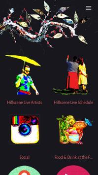 hillsceneLIVE poster