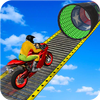 Racing Moto Bike Stunt : Impossible Track Game biểu tượng