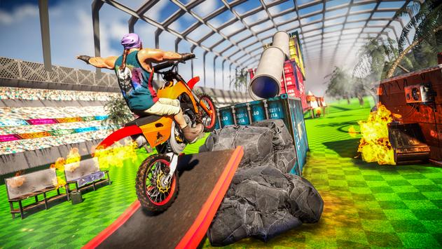 Racing Moto Bike Stunt screenshot 22