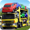 carros transporte reboque ícone