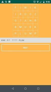 Word Finder poster