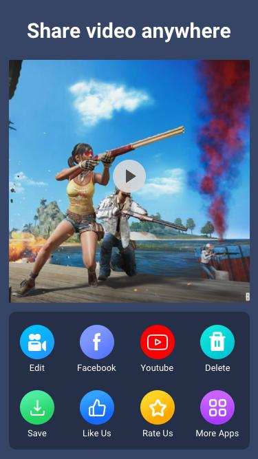Joy Screen Recorder: Face cam react video maker for Android