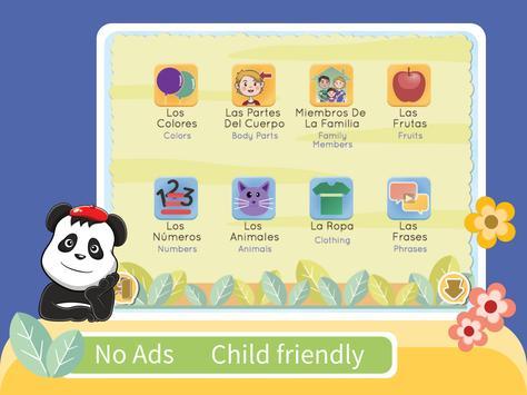 Kids YAY - Learn Spanish screenshot 6