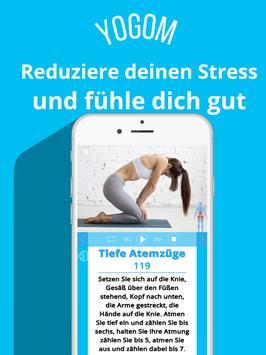 YOGOM - Yoga easy gratis Screenshot 13