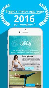 YOGOM - Yoga gratis Poster