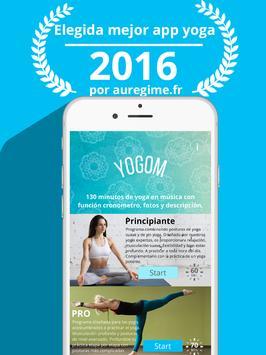 YOGOM - Yoga gratis captura de pantalla 10