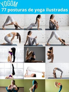 YOGOM - Yoga gratis captura de pantalla 9