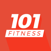 101 Fitness - Personal coach and fit plan at home-icoon