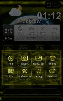 Next Launcher MilitaryB Theme screenshot 4