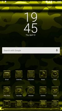 Next Launcher MilitaryB Theme screenshot 1