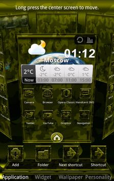 Next Launcher MilitaryB Theme screenshot 3
