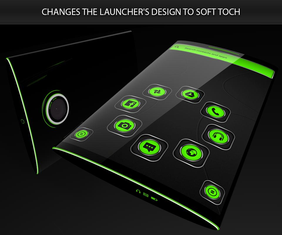 Soft Touch Green Theme poster