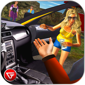 Crazy Taxi Car Driving Game: City Cab Sim 2018 icon