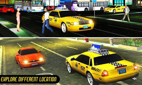 Crazy Taxi Car Driving Game: City Cab Sim 2020 screenshot 3