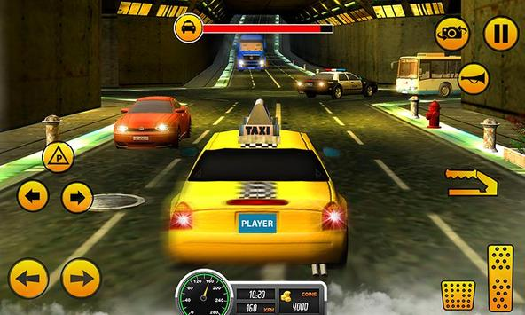 Crazy Taxi Car Driving Game: City Cab Sim 2020 poster