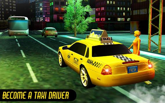 Crazy Taxi Car Driving Game: City Cab Sim 2020 screenshot 11