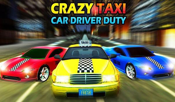 Crazy Taxi Car Driving Game: City Cab Sim 2020 screenshot 14