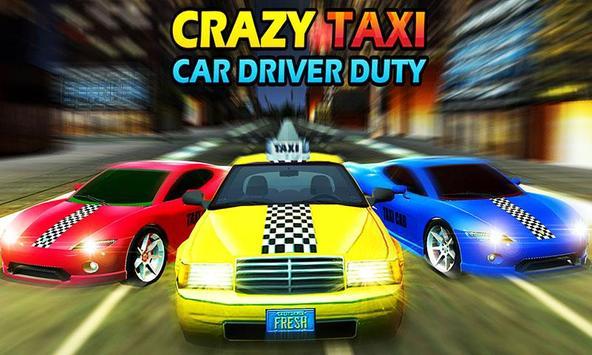 Crazy Taxi Car Driving Game: City Cab Sim 2020 screenshot 2