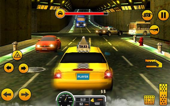 Crazy Taxi Car Driving Game: City Cab Sim 2020 screenshot 7