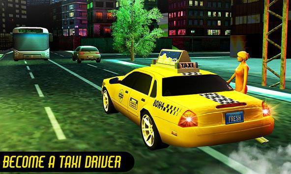 Crazy Taxi Car Driving Game: City Cab Sim 2020 screenshot 5