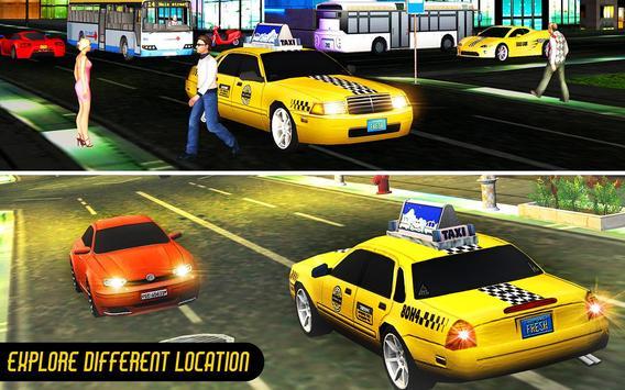 Crazy Taxi Car Driving Game: City Cab Sim 2020 screenshot 9