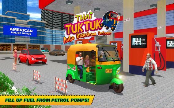 Şehir Tuk Tuk Otomatik Rickshaw Sürücü 3D Sim 2018 Ekran Görüntüsü 11