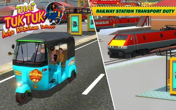 Şehir Tuk Tuk Otomatik Rickshaw Sürücü 3D Sim 2018 Ekran Görüntüsü 9