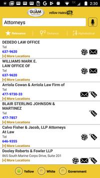 The Guam Phone Book screenshot 2