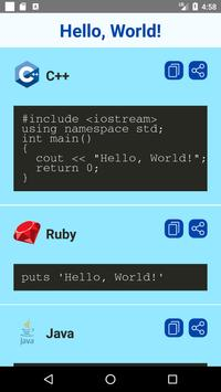 Hello World Examples poster