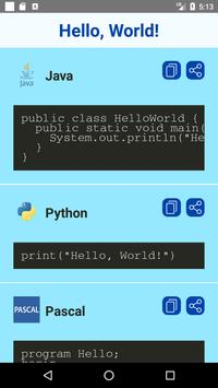 Hello World Examples screenshot 1
